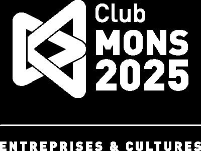 Logo du Club Mons 2016 réalisé par l'agence BARAPUB